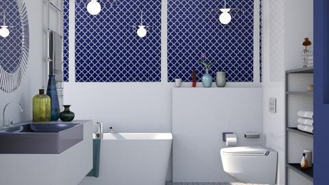 Royal Navy - Modern - Bathroom - by Jessica Fox