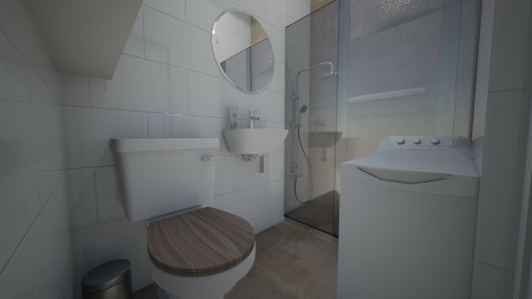 ZS - Bathroom - by Gosia1610