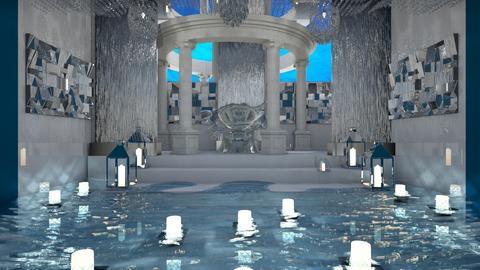 Mermaid Throne room - by Yate