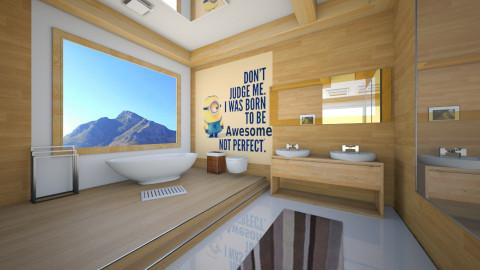 tablo bathroom - Modern - Bathroom - by Nhezi