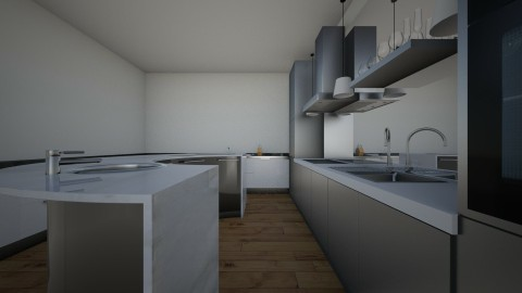 my kitchen - by sudevi