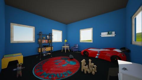Seth - Bedroom - by AppleSpongeCake