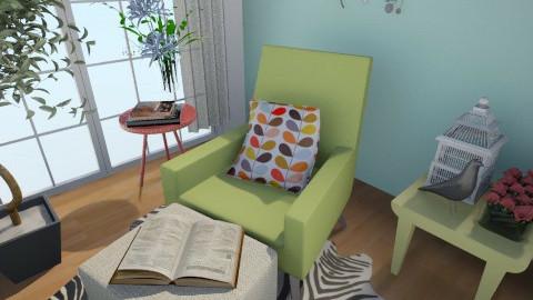 Quarto - Vintage - Bedroom - by Anna Karine