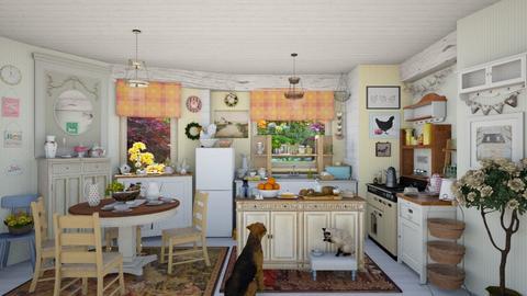 shabby kitchen - by Teri Dawn
