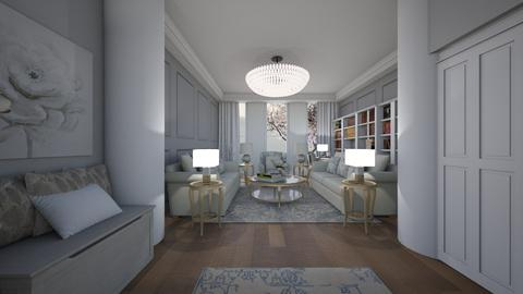 Template room - Living room - by Amal Soloman