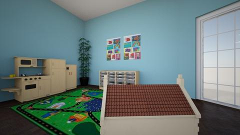 Play Area - Kids room - by Lika T