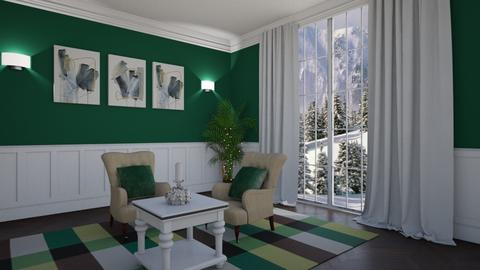 Winter Green - Living room - by creato