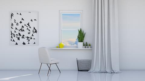 Gazing outside - Minimal - Dining room - by HenkRetro1960
