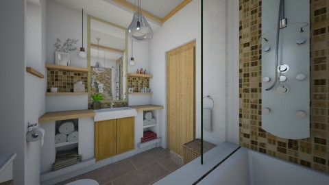 Projekat _ Kupatilo - Bathroom - by maja97