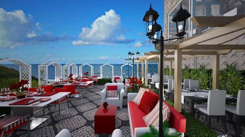 Bay Restaurant - Garden - by Joao M Palla