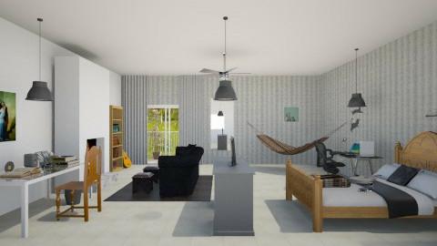 Projeto Paola pro Helder3 - Bedroom - by Paola ApMoura