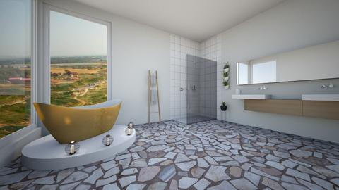 tell aviv - Bathroom - by edensofti