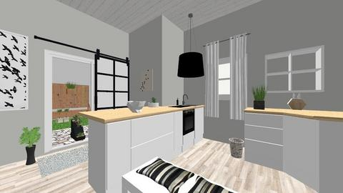 Kitchen and Patio - Kitchen - by figuresk8cre8