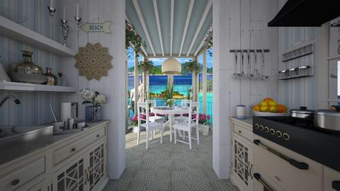 Design 361 Kitchen Conservatory on Beach - Kitchen - by Daisy320