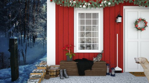 Design 237 A Touch of Christmas - Garden - by Daisy320