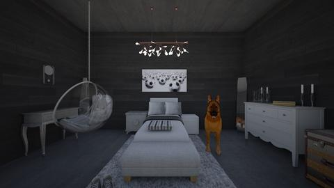 Classy Athlete Bedroom - Bedroom - by Makena Holdaas
