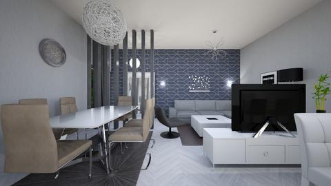 living room  - Modern - by Vasile Bianca Rozalia
