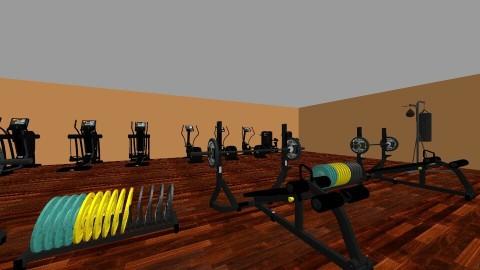 gym - by martina_esquitin