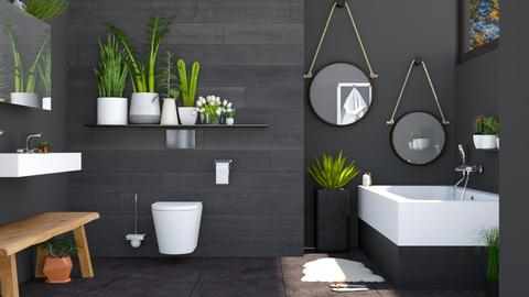 Urban Jungle - Bathroom - by seth96
