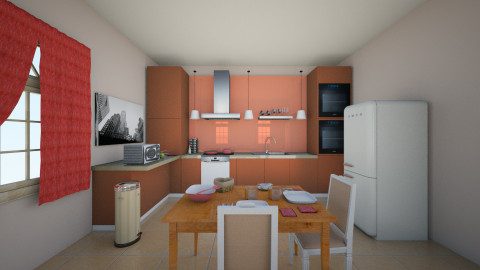 Kitchen - Classic - Kitchen - by Aude Rosewalker