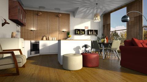 Blind_Kitchen - Kitchen - by ZuzanaDesign