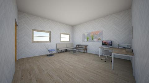 wooden office - Modern - Office - by Mikayla Ryann