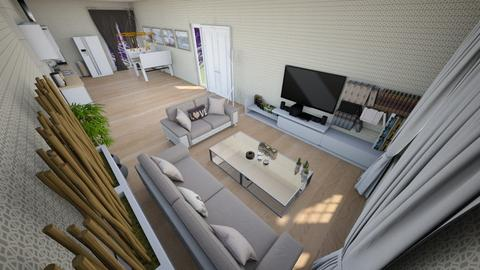 family home 139 - Modern - Living room - by Stavroula Chatzina