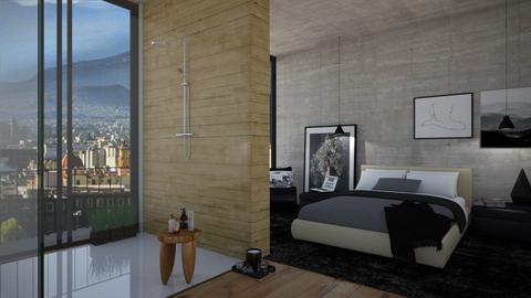 bedroom - by bsk Interiordesign