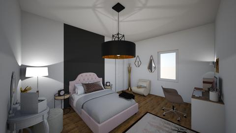 chambre chez papa - Bedroom - by Ines 66