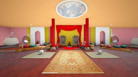 Colores de la india - Country - Living room - by Jenni Leguiza