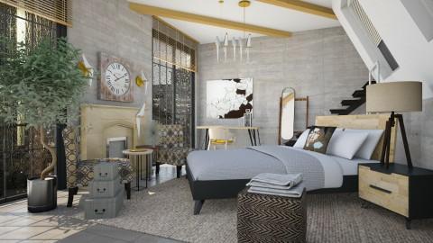 ru - Bedroom - by chania