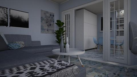 Living space for Rako _ 2 - Living room - by meggle