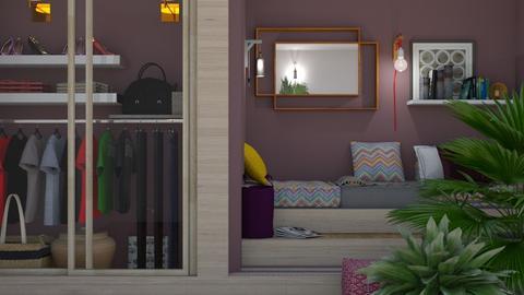 Soft Cinnebar  - Bedroom - by Tree Nut