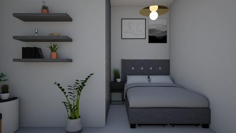 Small house - Bedroom - by CattyDavid