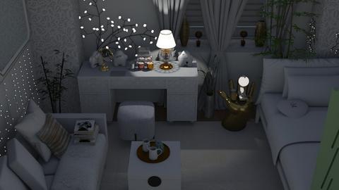 wb - Feminine - Bedroom - by augustmoon