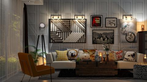 Modern - Living room - by zarky