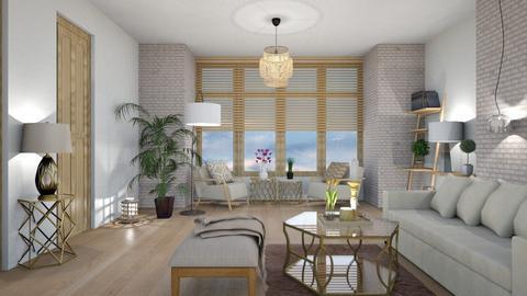 Template Baywindow Room - Living room - by mari mar