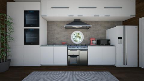 Small Kitchen - Minimal - Kitchen - by Caitlin Cox_743