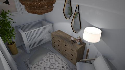 Contemporary Nursery - Kids room - by searnold1010