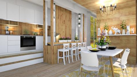 Dining fresh room - by NikolinaB26