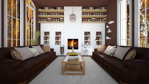 reading room - Rustic - by NikolinaB26