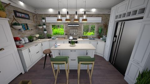 Jungle Kitchen - Kitchen - by edDesign