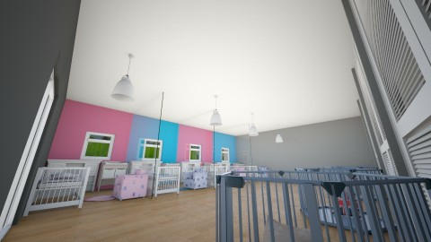 nursery - Classic - Kids room - by colorful_tiger_lover
