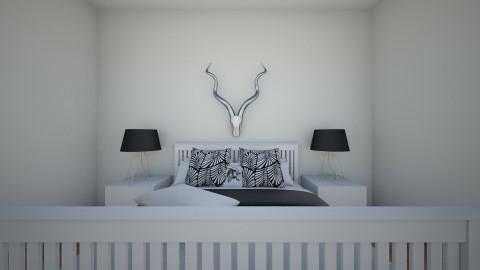 Black and white - Classic - Bedroom - by Katiemichellegilbert
