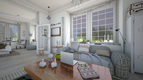 101 Reykjavik - Eclectic - Living room - by evahassing
