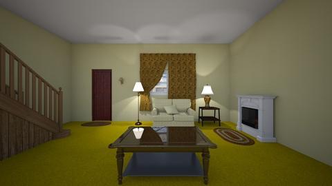 Childhood Home - Living room - by WestVirginiaRebel