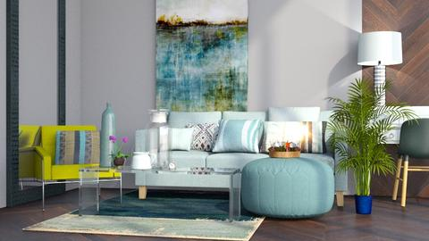 Natural 3 - Modern - Living room - by Jessica Fox