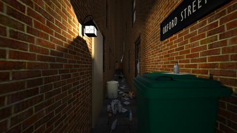 Alley Scene - by SammyJPili