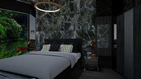 Rock - Bedroom - by timeandplace
