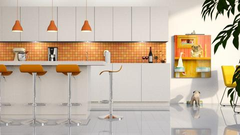 Playful Modern Kitchen - Kitchen - by GraceKathryn